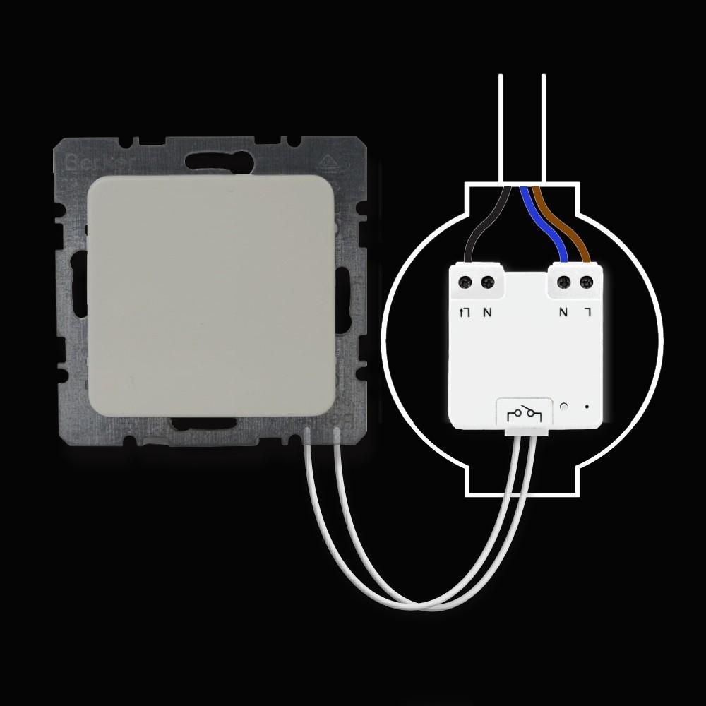 Mini Inbouw Schakelaar Spaarlamp Led Awmr300 Rutten