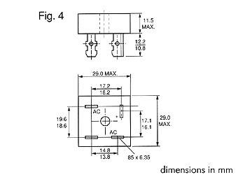 Brückengleichrichter 5A 100V BR101