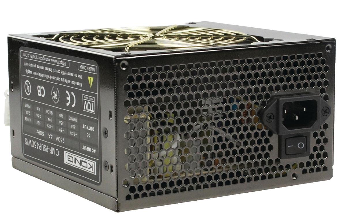 Netvoeding PC 450 W Stille Ventilator 12 cm (CMP-PSUP450W/S ...