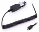 20819 Mobiparts Essential Car Charger Micro USB 1A Black