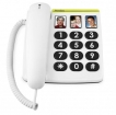 23464 Doro PhoneEasy 331ph White
