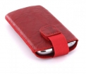24007 Mobiparts Uni Pouch SMOKE Size M Red