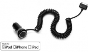 28426 Griffin PowerJolt SE for iPhone and iPad (30-pins) 2.1A Black 60cm