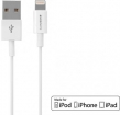 29705 Mobiparts Apple Lightning to USB Cable 2.4A 1m White