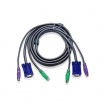 2L-5003P/C KVM Kabel VGA Female 15-Pins / 2x PS/2-Connector - VGA Male / 2x PS/2-Connector 3.0 m