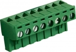 RND 205-00183 Female Connector Screw terminal Schroef connectie 8P