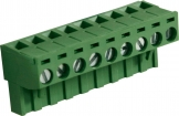 RND 205-00184 Female Connector Screw terminal Schroef connectie 9P