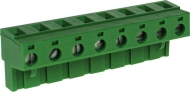 RND 205-00271 Female Connector Screw terminal Schroef connectie 8P
