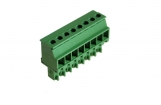 RND 205-00309 Female Connector Screw terminal Schroef connectie 2P