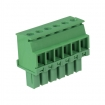 RND 205-00324 Female Connector Screw terminal Schroef connectie 6P