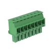 RND 205-00326 Female Connector Screw terminal Schroef connectie 8P