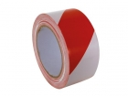 500WR MARKEERTAPE - 50 mm x 33 m - ROOD/WIT