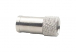 695002566 F-Connector Male Zilver