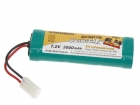 6SC3000C NiMH RACING PACK 7.2V-3000mAh