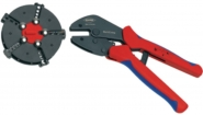 97 33 02 Crimping pliers with magazine changer Plug connectors, cable lugs, wire end ferrules and butt connectors 0.5...6 mm²