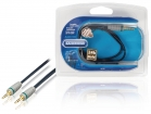 BAL3300 Stereo Audiokabel 3.5 mm Male - 3.5 mm Male 0.50 m Blauw