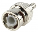 BNC-016 Connector BNC 2.55 mm Male Metaal Zilver