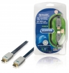 BVL1605 High Speed HDMI kabel met Ethernet Plat HDMI-Connector - HDMI-Connector 5.00 m Blauw