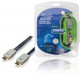 BVL1607 High Speed HDMI kabel met Ethernet Plat HDMI-Connector - HDMI-Connector 7.50 m Blauw