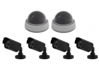 CAMD13 NEPCAMERA-SET - 2 DOME EN 4 BULLET CAMERA'S