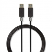 CCBP61000AT20 Kabel USB 3.0 | A male - A male | 2,0 m | Antraciet