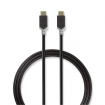CCBP64750AT10 USB 3.1-kabel (Gen2) | Type-C male - Type-C male | 1,0 m | Antraciet