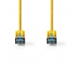 CCGP85320YE10 CAT6a-Kabel | SF/UTP | RJ45 (8P8C) Male | RJ45 (8P8C) Male | 1.00 m | Rond | PVC | Geel | Polybag
