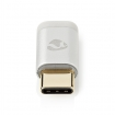 CCTB60910AL USB-Adapter | USB 2.0 | USB Type-C™ Male | USB Micro-B Female | Verguld | Zilver | Cover Window Box