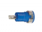 CM17BL IEC1010 BINDING POST, FASTON - BLUE