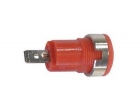 CM17R IEC1010 BINDING POST, FASTON - RED