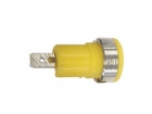 CM17Y IEC1010 BINDING POST, FASTON - YELLOW
