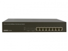 EM4436 EMINENT - POWER OVER ETHERNET GIGABIT SWITCH - 8 PoE-POORTEN - 10/100/1000 Mbps