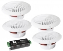 ENB403BL BLUETOOTH PLAFOND SPEAKER KIT MET 4 LUIDSPREKERS
