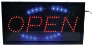 ENG009BF LED Open Sign groot