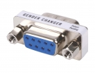 GCM-9M9F Seriële Adapter SUB-D 9-Pins Male - SUB-D 9-Pins Female Metaal