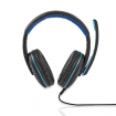 GHST100BK Gamingheadset | Over-ear | Microfoon | 3,5 mm connectoren