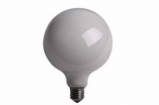 FT13901242 Globelamp 60W E27 230V 125mm met wit opaalglas