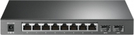 GN55105 TP-LINK SG2210PS 8-POORTS GIGABIT SWITCH MET 8x POE