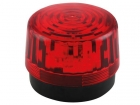 HAA100RN LED-KNIPPERLICHT - ROOD - 12 VDC -  ø 100 mm