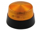 HAA40AN LED-KNIPPERLICHT - AMBER - 12 VDC -  ø 77 mm