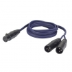 HEFL39150 DAP XLR female naar 2x XLR male 1.5m