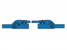 HM0421S25A CONTACT PROTECTED INJECTION-MOULDED MEASURING LEAD 4mm 25cm / BLUE (MLB-SH/WS 25/1)