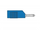 HM1420 MATING CONNECTOR 4mm WITH LONGITUDINAL OR TRANSVERSE CABLE MOUNTING, WITH SCREW / BLUE (BSB 20K)