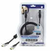 HQSS5560-1.5 High Speed HDMI kabel met Ethernet HDMI-Connector - HDMI-Connector 1.50 m Donkergrijs
