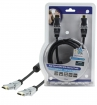 HQSS5564-1.5 High Speed HDMI kabel met Ethernet HDMI-Connector - HDMI-Connector Draaibaar 1.50 m Donkergrijs