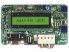 K8045 PROGRAMMEERBAAR MESSAGE BOARD MET LCD, SERIËLE INTERFACE & 8 INGANGEN