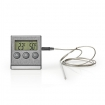 KATH104SS Vleesthermometer | 0 - 250 °C | Digitaal Display | Timer