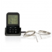 KATH107GY Draadloze Vleesthermometer | 0 - 250 °C | Digitaal Display | Timer