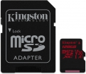 GN57240 Kingston - flashgeheugenkaart 128 GB microSDXC UHS-I MB/s + SD Adapter