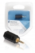 KNA21930E Stereo-Audio-Adapter 2.5 mm Male - 3.5 mm Female Antraciet